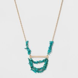 NWT SUGARFIX by Baublebar turquoise necklace